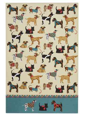 "Küchentuch ""Hound Dog"" von Ulster Weavers. Cotton tea towel"