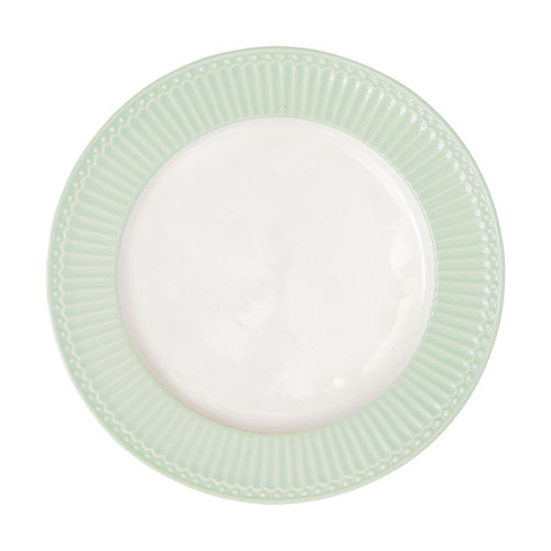 "Essteller ""Alice"" (pale green) von GreenGate. Speiseteller-Dinnerplate"