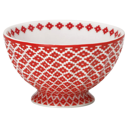 "Schale ""Judy"" (red) von GreenGate. French bowl medium"