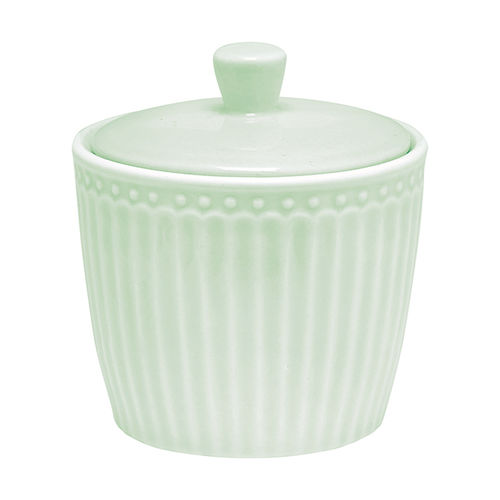 "Zuckerdose ""Alice"" (pale green) von GreenGate. Sugar pot"