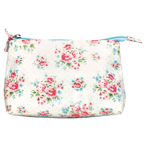 "Necessaire ""Tess"" (white), klein von GreenGate. Cosmetic bag small"