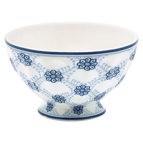 "Schale ""Lolly"" (blue) von GreenGate. French bowl medium"