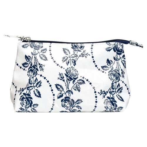 "Necessaire ""Fleur"" (blue), klein von GreenGate. Cosmetic bag small"