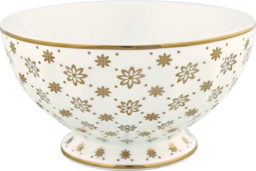 "Schale ""Laurie"" (gold) von GreenGate. French bowl x-large"