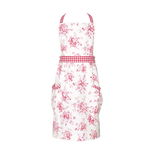 "Kinderschürze ""Abelone"" (raspberry) von GreenGate. Child apron"