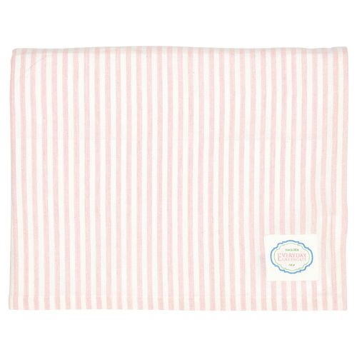 "Tischdecke ""Alice"" (stripe pale pink), 145x250cm von GreenGate. Tablecloth"
