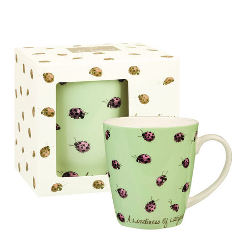 "Tasse ""Loveliness of Ladybirds"" von Queens by Churchill. Mug"