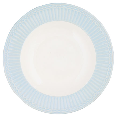 "Suppenteller ""Alice"" (pale blue) von GreenGate. Tiefer Teller - Deep Plate"