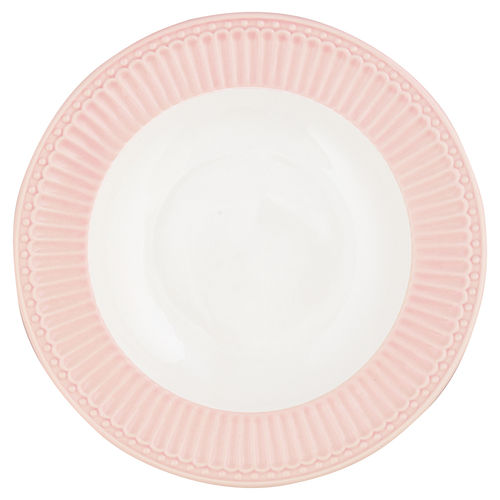 "Suppenteller ""Alice"" (pale pink) von GreenGate. Tiefer Teller - Deep Plate"