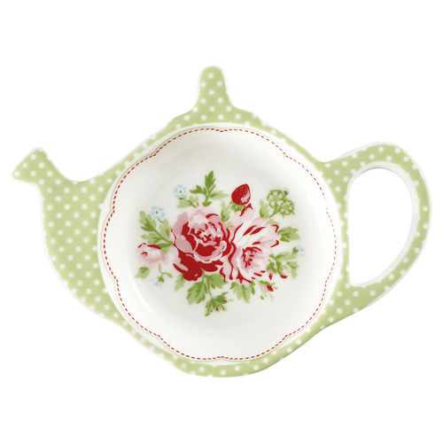 "Teebeutel-Ablage ""Mary"" (white) von GreenGate. Teabag holder"