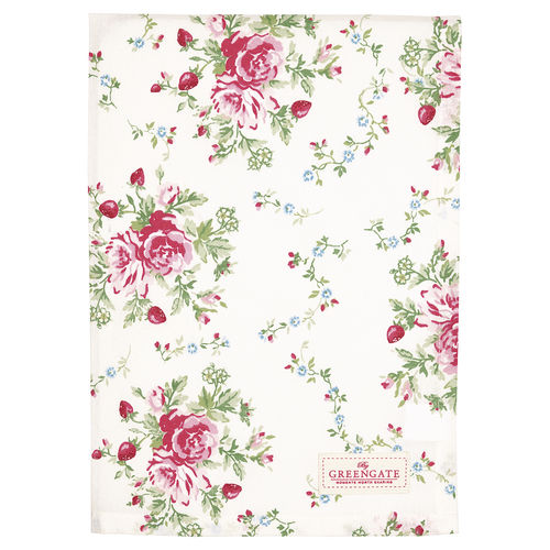 "Geschirrtuch ""Mary"" (white) von GreenGate. Tea towel"