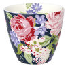 "Latte Cup ""Rose"" (dark blue) von GreenGate. Tasse - Becher - Chacheli"