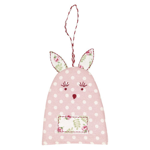 "Eierwärmer ""Rabbit Spot"" (pale pink) von GreenGate. Egg warmer"