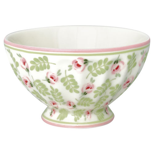 "Schale ""Lily"" (petit white) von GreenGate. French bowl medium"
