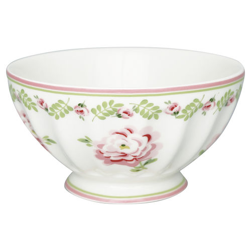 "Schale ""Lily"" (petit white) von GreenGate. French bowl x-large"
