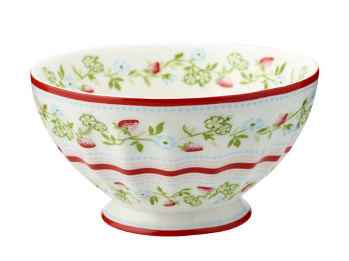 "Schale ""Gloria"" (white) von GreenGate. French bowl x-large"