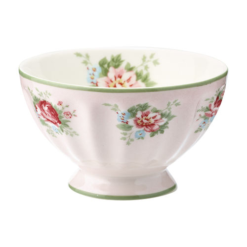 "Schale ""Aurelia"" (pale pink) von GreenGate. French bowl medium"