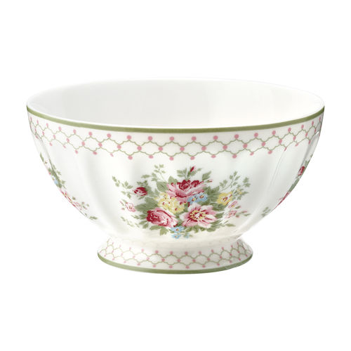 "Schale ""Aurelia"" (white) von GreenGate. French bowl x-large"