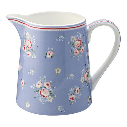 "Kleiner Krug ""Nicoline"" (dusty blue) von GreenGate. Jug small"
