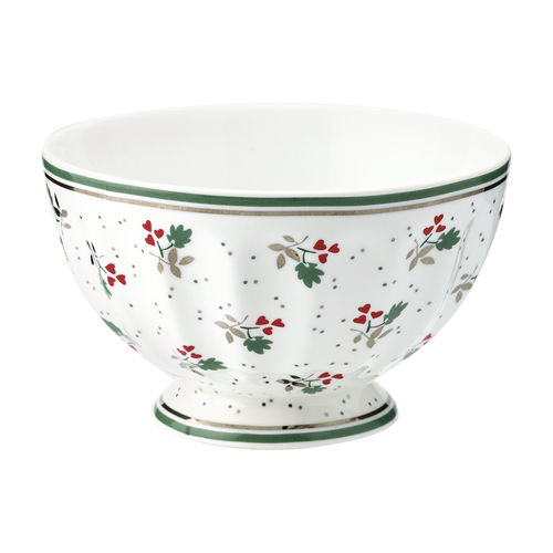"Schale ""Joselyn"" (white) von GreenGate. French bowl medium"
