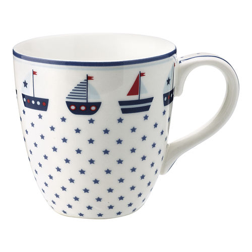 "Kindertasse ""Noah"" (blue) von GreenGate. Kids mug"