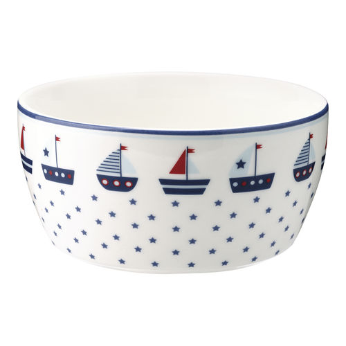 "Kinderschale ""Noah"" (blue) von GreenGate. Kids bowl"