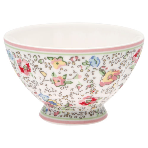 "Schale ""Vivianne"" (white) von GreenGate. French bowl medium"