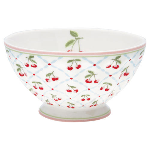 "Schale ""Cherie"" (white) von GreenGate. French bowl x-large"