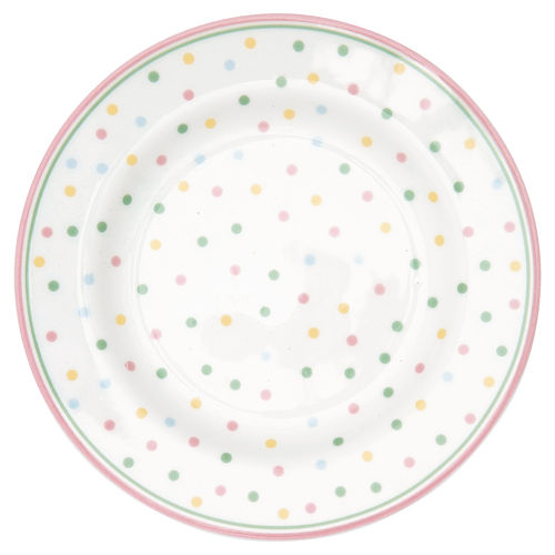 "Teller klein ""Bonnie"" (white) von GreenGate. Small plate"