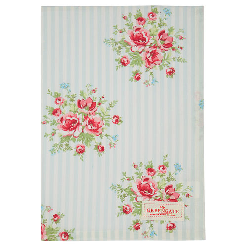"Geschirrtuch ""Nellie"" (pale blue) von GreenGate. Tea towel"