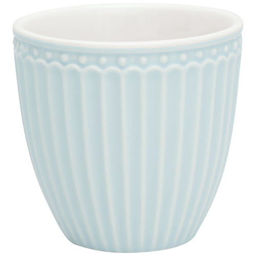 "Mini Latte Cup ""Alice"" (pale blue) von GreenGate. Espresso - Tasse"