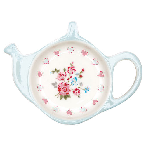 "Teebeutel-Ablage ""Sonia"" (white) von GreenGate. Teabag holder"
