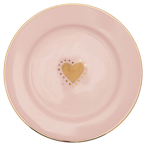 "Teller klein ""Penny"" (gold) von GreenGate. Small plate"