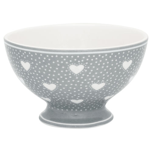 "Snackschale ""Penny"" (grey) von GreenGate. Snack bowl"