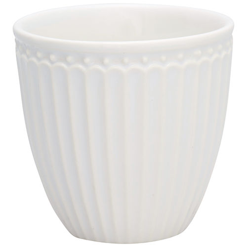 "Mini Latte Cup ""Alice"" (white) von GreenGate. Espresso - Tasse"