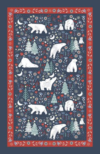 "Geschirrtuch ""Polar Bear"" von Ulster Weavers. Cotton tea towel"