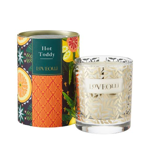 "Duftkerze im Glas ""Hot Toddy"" von LoveOlli. Scented candle"
