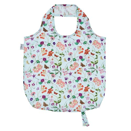 "Mini-Maxi Shopper ""Spring Floral"" (RHS) von Ulster Weavers. Roll up Bag"