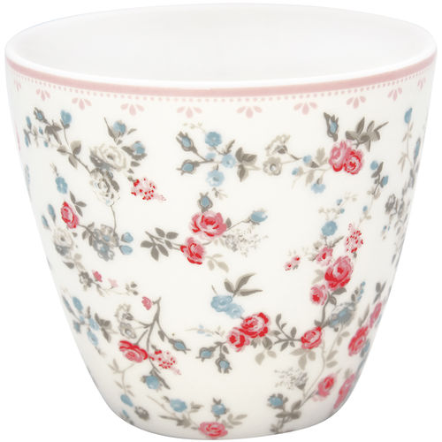 "Latte Cup ""Carly"" (white) von GreenGate. Tasse - Becher - Chacheli"