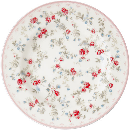 "Teller klein ""Carly"" (white) von GreenGate. Small plate"